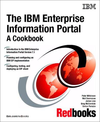 The IBM Enterprise Information Portal: A Cookbook: IBM Redbooks