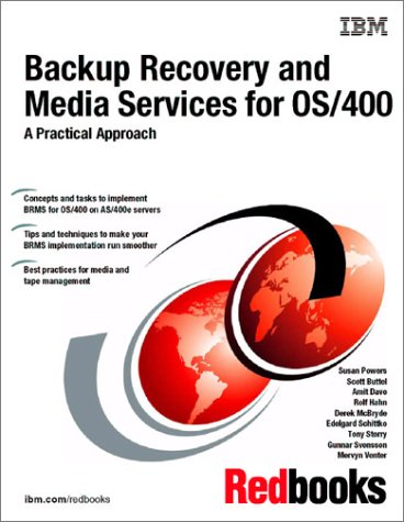 9780738422237: Backup Recovery and Media Services for Os/400: A Practical Approach