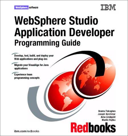 WebSphere Studio Application Developer Programming Guide: IBM Redbooks