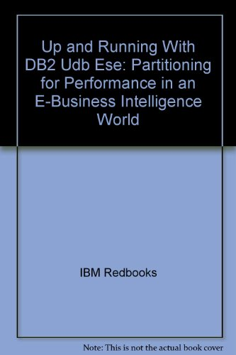 Up and Running With DB2 Udb Ese: IBM Redbooks