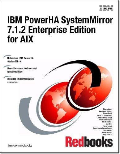 9780738437873: IBM PowerHA Systemmirror 7.1.2 Enterprise Edition for AIX