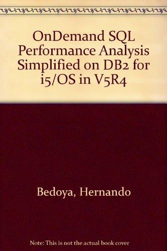 OnDemand SQL Performance Analysis Simplified on DB2: Hernando Bedoya; Jaime
