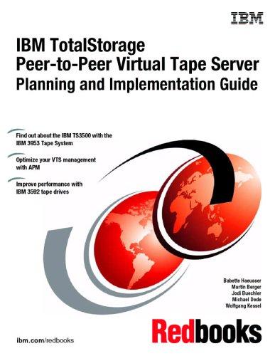 9780738497082: IBM Totalstorage Peer-to-peer Virtual Tape Server Planning And Implementation Guide