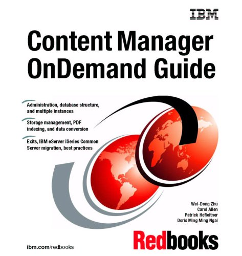 9780738497198: Content Manager Ondemand Guide
