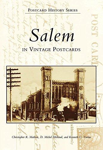 9780738503301: Salem in Vintage Postcards (Postcard History: Massachusetts)