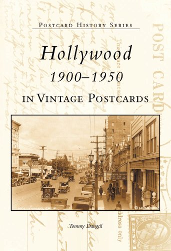 9780738520735: Hollywood 1900-1950 in Vintage Postcards (Postcard History)