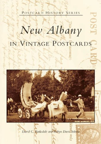 9780738533865: New Albany in Vintage Postcards (IN) (Postcard History Series)