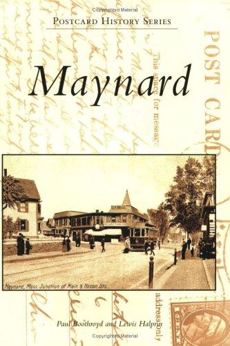 9780738539461: Maynard (MA) (Postcard History Series)