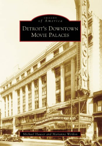 9780738541020: Detroit's Downtown Movie Palaces (MI) (Images of America)