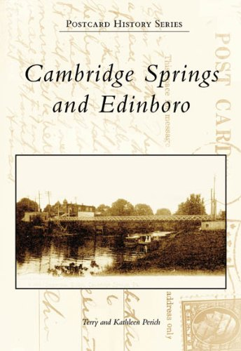 9780738545288: Cambridge Springs and Edinboro (PA) (Postcard History Series)