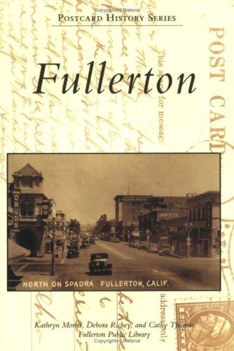9780738547886: Fullerton (CA) (Postcard History Series)