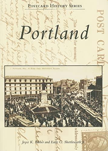 9780738550336: Portland (ME) (Postcard History Series)