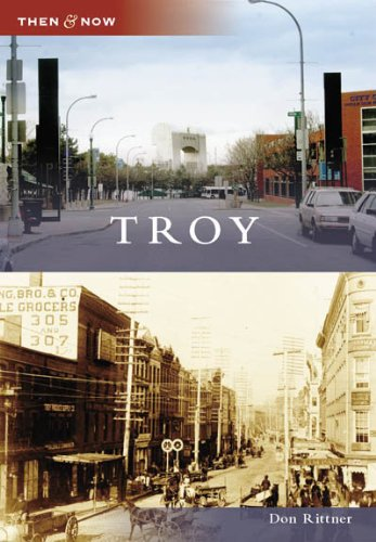 9780738554945: Troy (NY) (Then and Now)