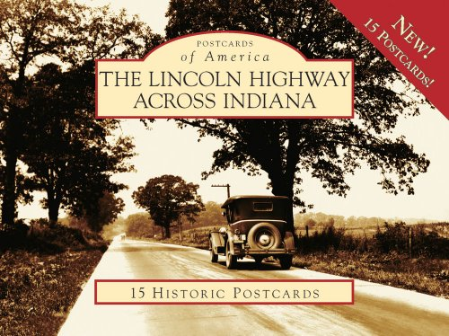 9780738560885: Lincoln Highway Across In 15 Hist Pcs, IN (POA) (Postcards of America)