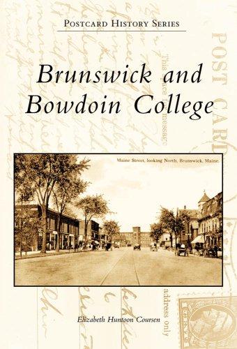 9780738562377: Brunswick And Bowdoin College, ME (PHS) (Postcard History)