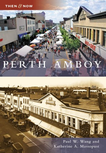 9780738562414: Perth Amboy, NJ (TAN) (Then and Now)