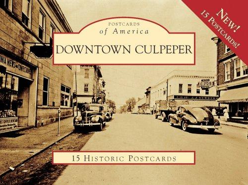 9780738567655: Downtown Culpeper 15 Historic Pcs, VA (POA) (Postcards of America)