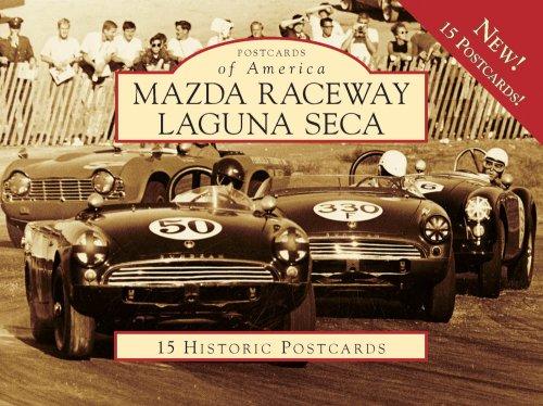 9780738569260: Mazda Raceway Laguna Seca (Postcard of America) (Postcards of America)