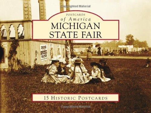 9780738584058: Michigan State Fair (Postcards of America)