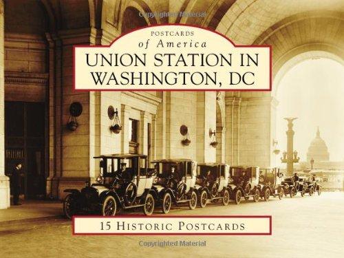 9780738587950: Union Station in Washington, DC (Postcards of America)