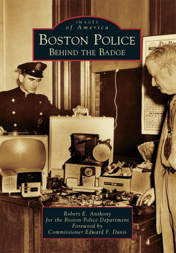 9780738598048: Boston Police: Behind the Badge (Images of America)