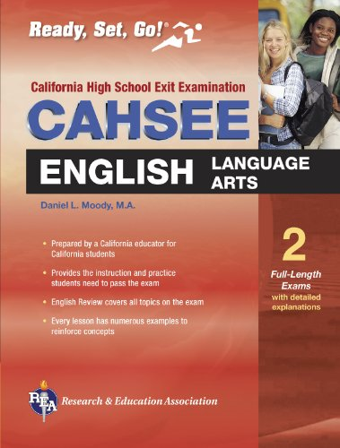 9780738600017: CAHSEE English Language Arts (REA) - The Best Test Prep for the California High School Exit Exam
