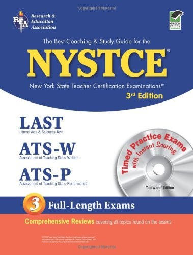 9780738600079: Nystce (Rea) - New York State Teacher Certification Exams [With CD for Windows] (NYSTCE (New York State Teacher Certification Exams))