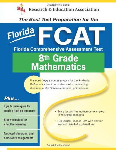 9780738600215: Fcat-Florida Comprehensive Assessment Test: 8th Grade Mathematics (Test Preps)