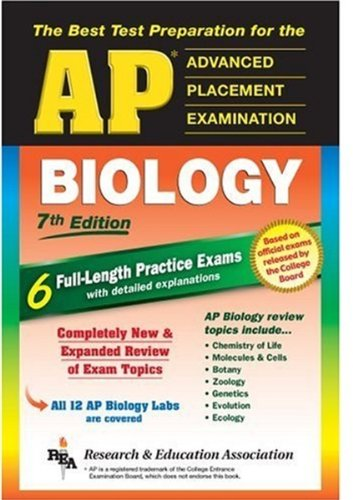 AP Biology (REA) - The Best Test: Laurie Ann Callihan,