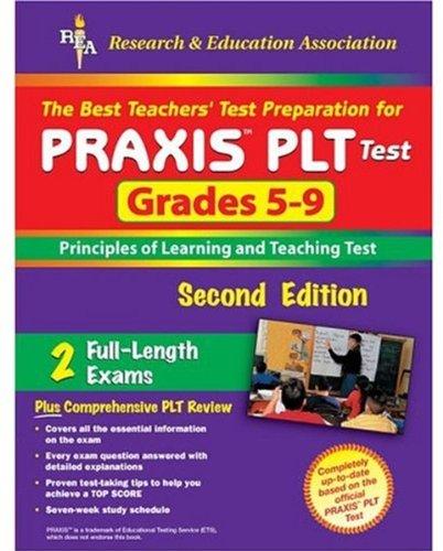 9780738600611: PRAXIS II: PLT Grades 5-9 (REA) - The Best