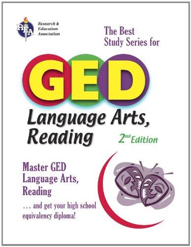 9780738600666: GED® Language Arts, Reading (GED® Test Preparation)