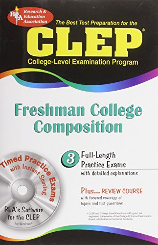 9780738600765: CLEP Freshman College Composition (CLEP Test Preparation)
