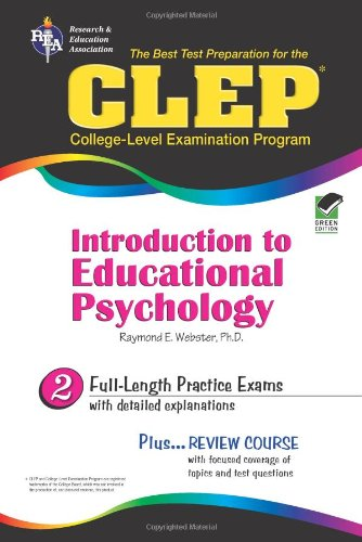 9780738600932: 2: CLEP Introduction to Educational Psychology (CLEP Test Preparation)
