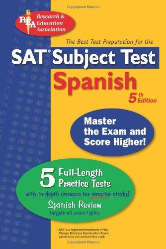 "SAT Subject Testâ""¢: Spanish (SAT PSAT ACT (College Admission) Prep) (0738601160) by G. M. Hammitt; Ricardo Gutierrez Mouat; W. Stivers; Mary Ellen Munoz Page; Spanish Study Guides"