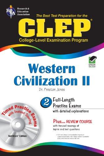 9780738601335: CLEP® Western Civilization II w/CD (CLEP Test Preparation)