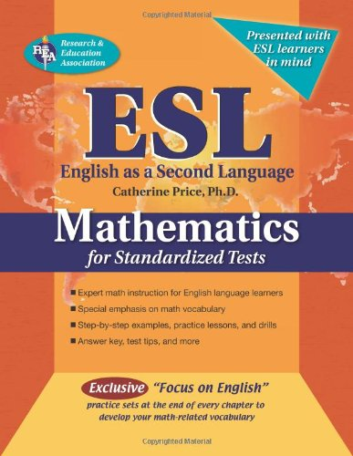9780738601380: ESL Mathematics for Standardized Tests (English as a Second Language Series)