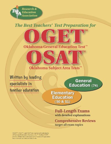 9780738601496: OGET/OSAT Oklahoma General Education & Subject Area Tests - Elementary Education (OGET / OSAT Teacher Cert Test Prep)