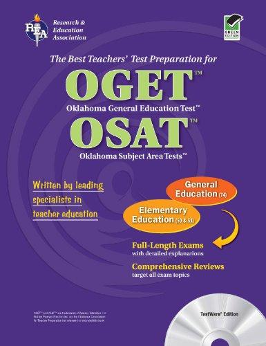 9780738601540: OGET/OSAT Oklahoma General Education & Subject Area Tests - Elementary Ed with CD (OGET / OSAT Teacher Cert Test Prep)