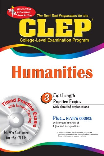 9780738601724: CLEP Humanities w/CD-ROM (CLEP Test Preparation)