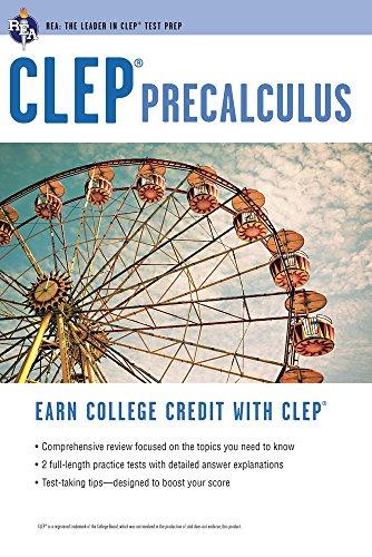 9780738601748: CLEP® Precalculus (CLEP Test Preparation)