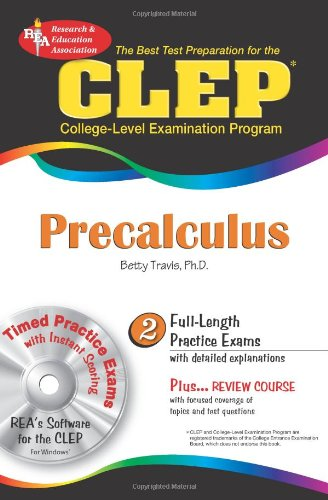 9780738601755: CLEP® Precalculus w/CD (CLEP Test Preparation)