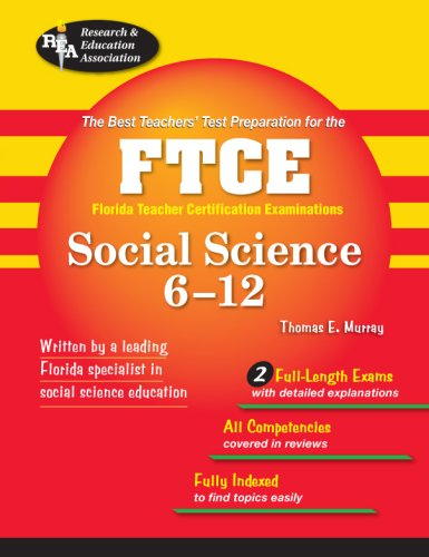 9780738602066: FTCE Social Science 6-12 (FTCE Teacher Certification Test Prep)