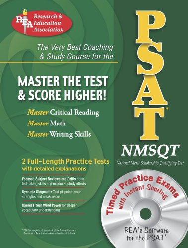 PSAT/NMSQT w/ CD-ROM (REA) The Best Coaching: Robert Bell, Suzanne