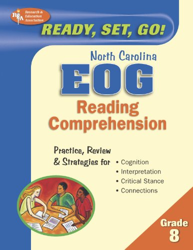 North Carolina EOG Grade 8 - Reading Comprehension (North Carolina EOG Test Preparation) (0738602396) by The Editors of REA