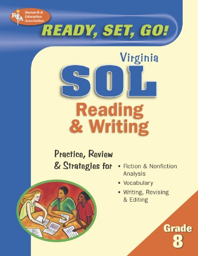 9780738602424: Virginia SOL, Reading & Writing, Grade 8 (Virginia SOL Test Preparation)