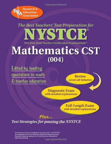 9780738602431: NYSTCE Content Specialty Test Mathematics (004) (NYSTCE Teacher Certification Test Prep)