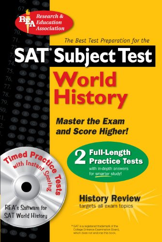 9780738602516: SAT Subject Test™: World History with CD (SAT PSAT ACT (College Admission) Prep)