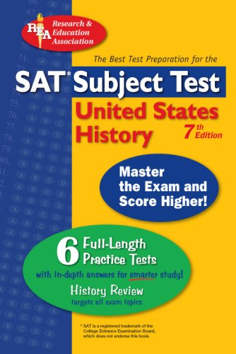 SAT United States History (SAT PSAT ACT (College Admission) Prep) (0738602957) by Land Ph.D., Gary; Lettieri, R.; DenBeste Ph.D., Michelle; US History Study Guides