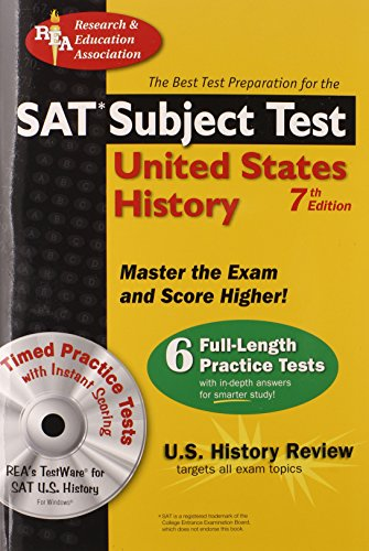 "SAT Subject Testâ""¢: United States History w/CD (SAT PSAT ACT (College Admission) Prep) (0738602965) by Land Ph.D., Gary; Lettieri, R.; DenBeste Ph.D., Michelle; US History Study Guides"