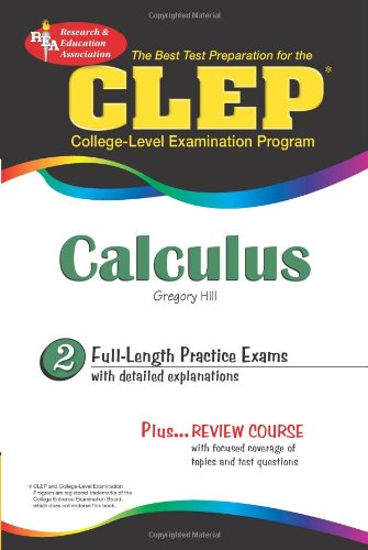 9780738603049: CLEP® Calculus (CLEP Test Preparation)